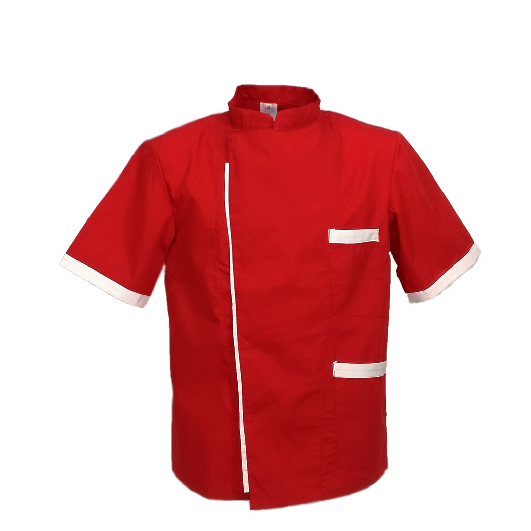 Tunic jacket pizzaiolo-pizzeria half sleeves cotton work chef restaurant