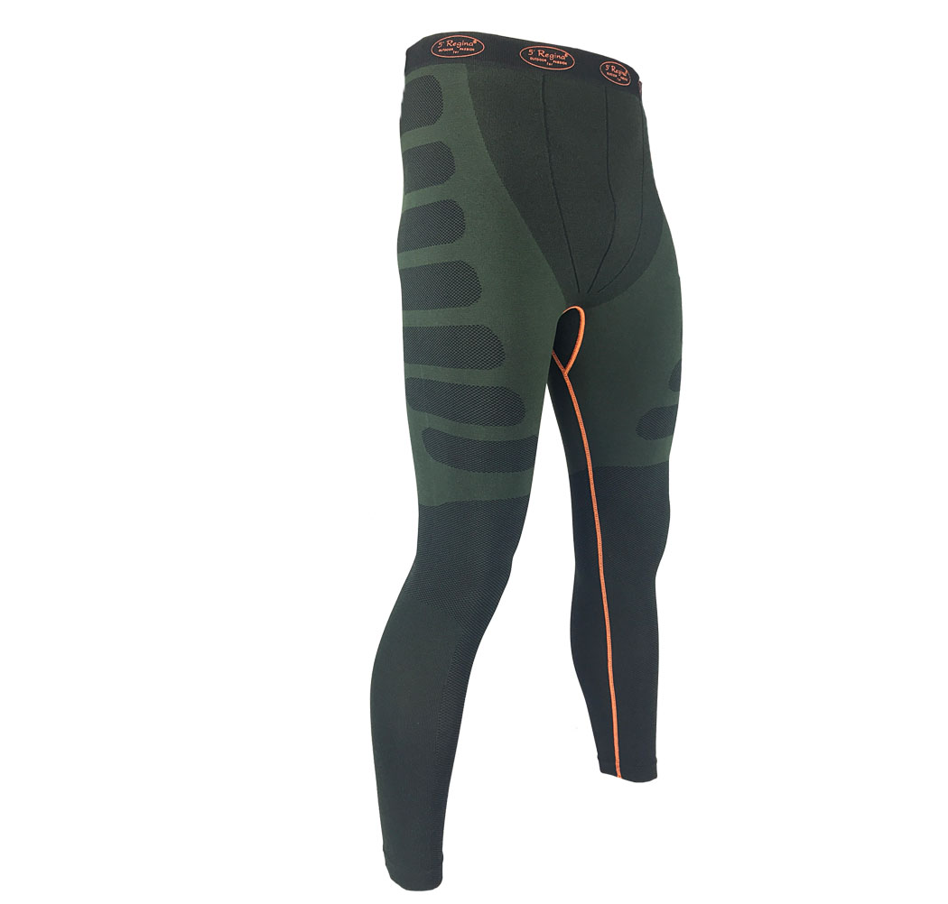 Pants thermal eliminates chafing elastic sports technical breathable stretch