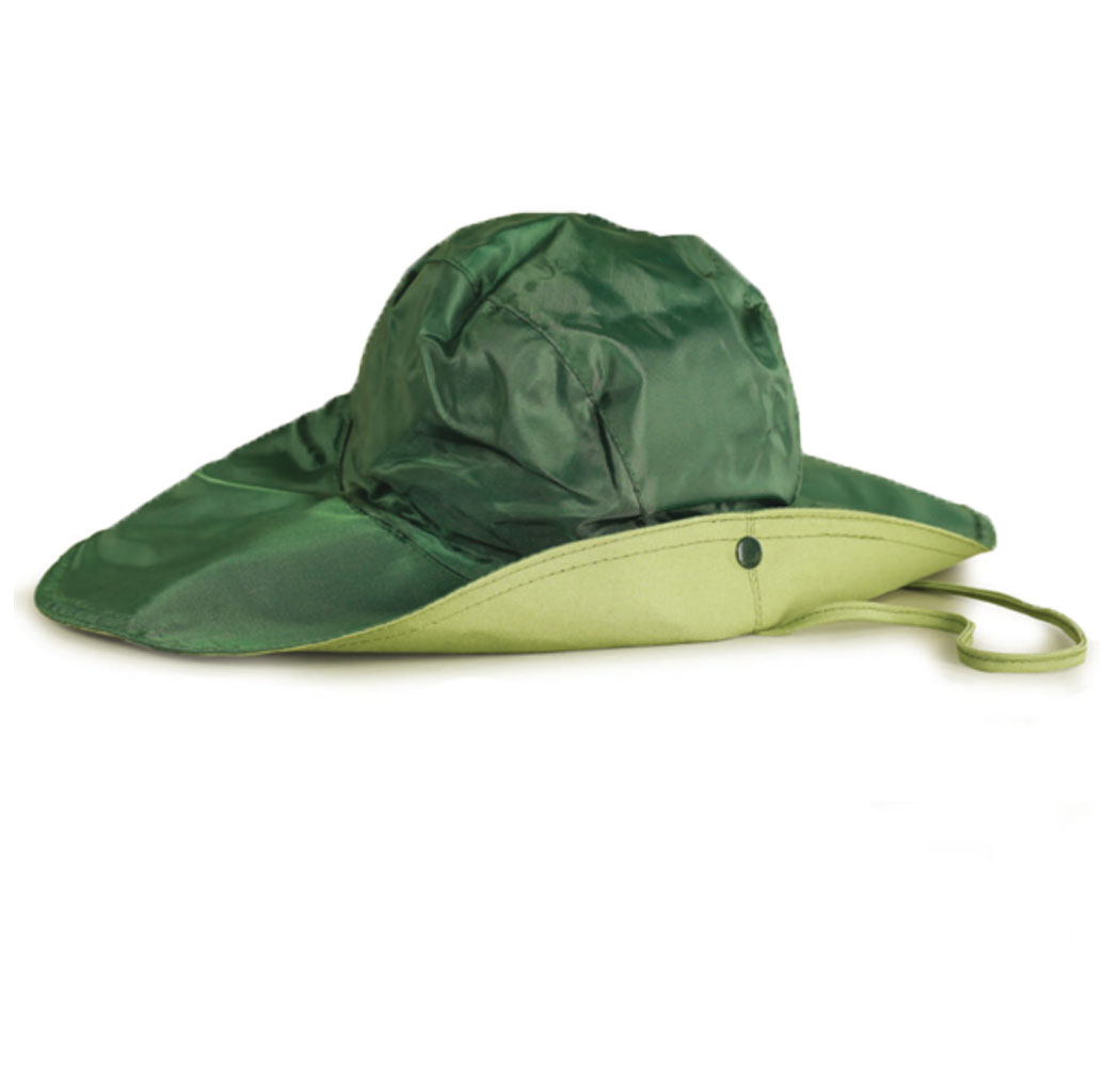 Hat wide brim hunting fishing waterproof nylon rain cover one size