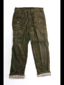 Pants hunting velvet lined fishing pockets hunting mountain man green