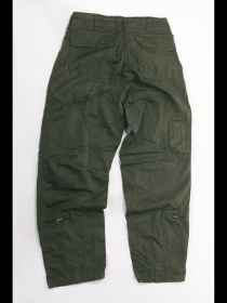 Pants elicotterista green summer man flight softair airsoft lightweight cotton