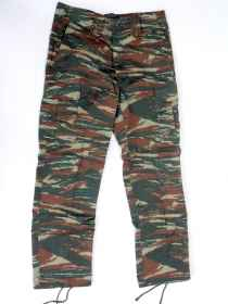 Pants, in camouflage Greek army cotton rip stop the new tg s to xxl
