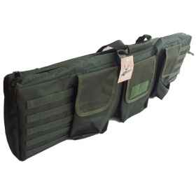 Housing suitcase the soft air of cordura ® and soft green with external pockets