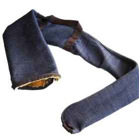 Pouch case rifle padded hunting jeans sport handles zip fur