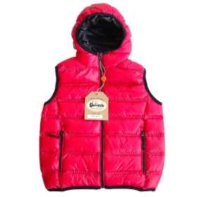 Sleeveless vest bomber jacket quilted baby girl winter waterproof