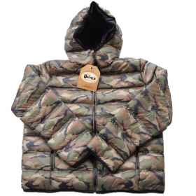 Jacket quilted bomber jacket waterproof boy girl baby winter snow