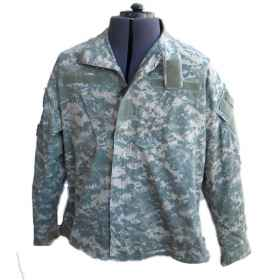 Shirt military man us at digital uniform combat ripstop cotton