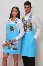 Apron paravanti divided waiter restaurant lounge bar cuisine pizzeria woman