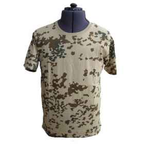 Jersey t-shirt t-shirt half sleeves crew neck man cotton slim military