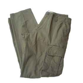 Pants, military camouflage green hunting fishing summer rip stop soft air man