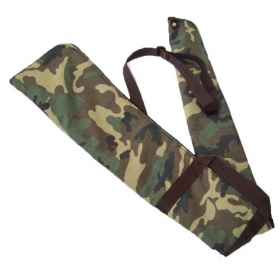 Pouch case rifle padded fur handles sport zipper hunting