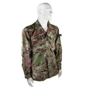 Shirt tunic cotton military vegetated sportsman hunting slim ripstop