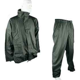 Jacket and pant waterproof PVC