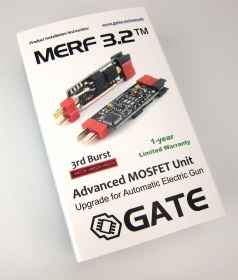 Gate electronics merf 3.2 mosfet active airsoft brake ascu burst controlled
