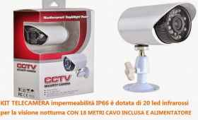 Camera waterproof outdoor cctv