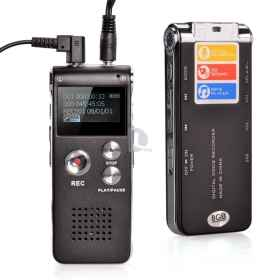 Mini digital recorder, 4 gb usb voice and phone spy vox