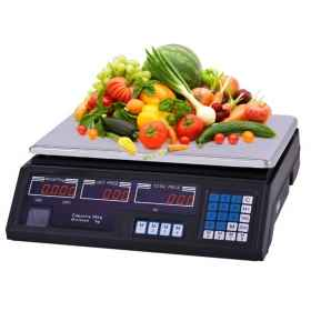 Digital scale, electronic weighing foods diet by 5 grams. 40 kg professional