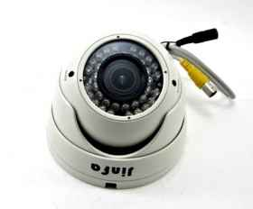 Dome camera vari-focal lens ir 2.8-12 mm bnc ccd zoom and focus tvl 900