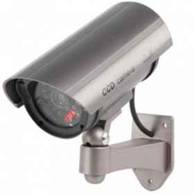 Security camera fake led surveillance cctv