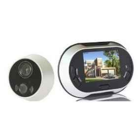 Electronic digital display peephole camera takes pictures Color LCD 3.5