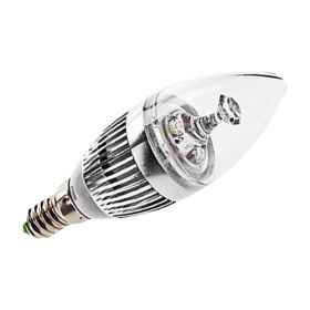 Led bulb with e14 3w/360 2700k lighting light