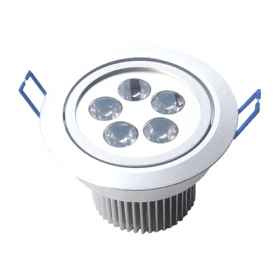Led downlight recessed 5w aluminum model led cold warm