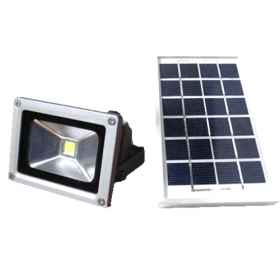 Spotlight led floodlight solar panel rechargeable battery