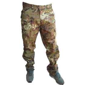 Trousers pants Italian army vegetated ordinance cotton original army