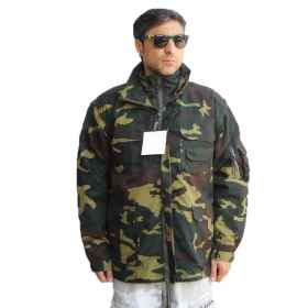 Jacket jacket jacket policotone cotton hunting fishing fleece inner