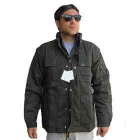 Jacket jacket jacket cotton cotton hunting fishing man fleece padding