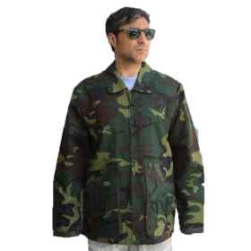 Jacket jacket jacket canvas hunting fishing cotton camouflage