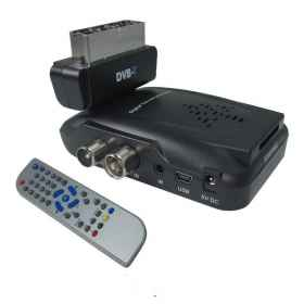 Digital terrestrial dvb-t scart 180 usb sd mmc 1108v decoder mini