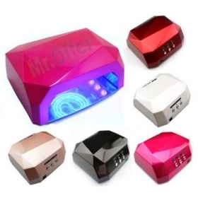 Lamp uv led nail nail art timer 18w diamond