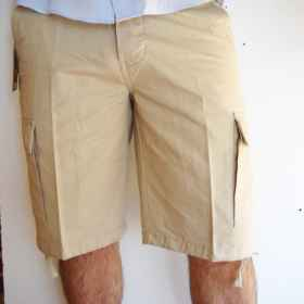 Bermuda shorts man summer sea capri cargo short pockets short pants