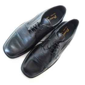 Low shoes leather by officers