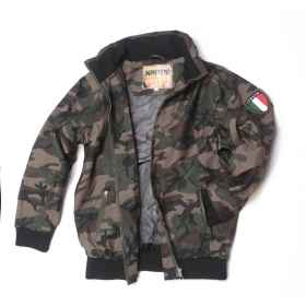 Bomber jacket vest jacket infant child military windproof winter