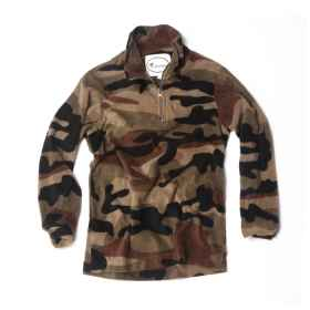 Shirt sweater sweatshirt child baby fleece winter warm military camouflage baby