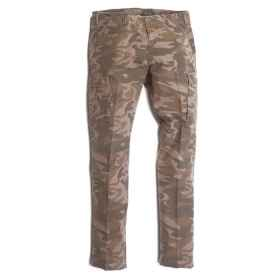 Pants Cargo pants cotton stone