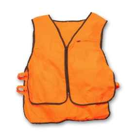 Sleeveless vest orange high visibility hunting wild boar reflector
