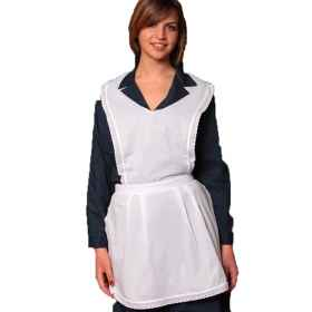 Apron waitress flap cleaning w