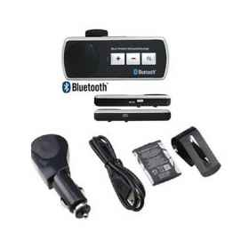 Bluetooth handsfree car kit speaker multipoint universal smartphone tablet