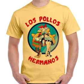 Mesh-TV-Serie Breaking Bad t-Shirt männer Druck-Los Pollos Hermanos