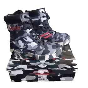 Amphibian boots camo camouflage rubber military airsoft airsoft non-slip man