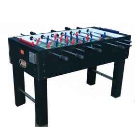 Foosball table, professional table football field table football in the bar room, games room