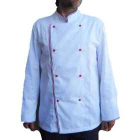 Full chef chef jacket pantalaccio hat kit-dining pizzeria