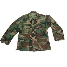 Shirt bdu american soft air pockets men military camouflage woodland and desert