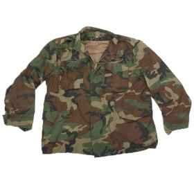 Croatian camo jacket camouflage jacket man military militaria m65 used