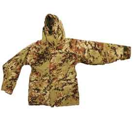 Parka padded vegetated Italian winter snow american air soft man