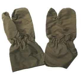 Gloves Italian army waterproof with three fingers
