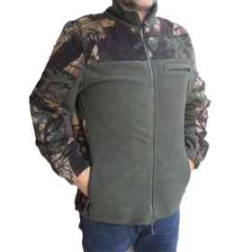 Jacket fleece hunting forest green